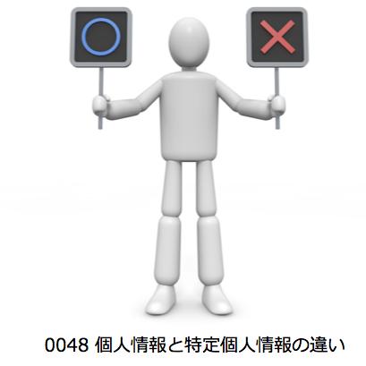 0048_個人情報と特定個人情報の違い